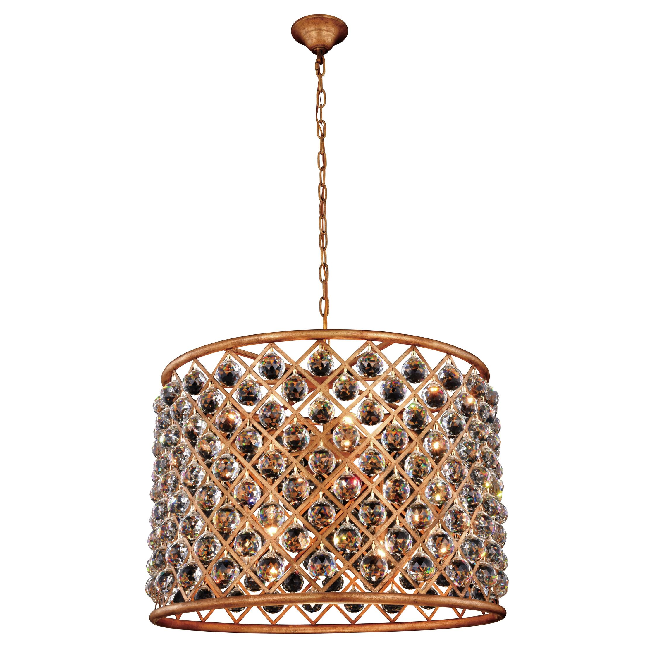 Morion 8-Light Pendant