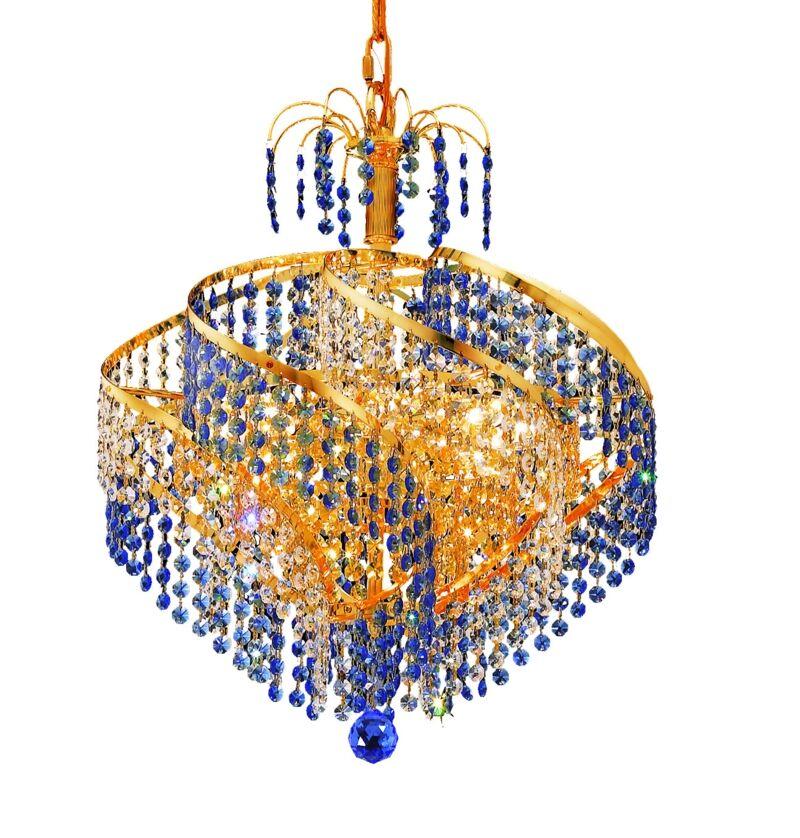 Mathilde 13-Light Chandelier Finish: Chrome, Crystal Trim: Royal Cut