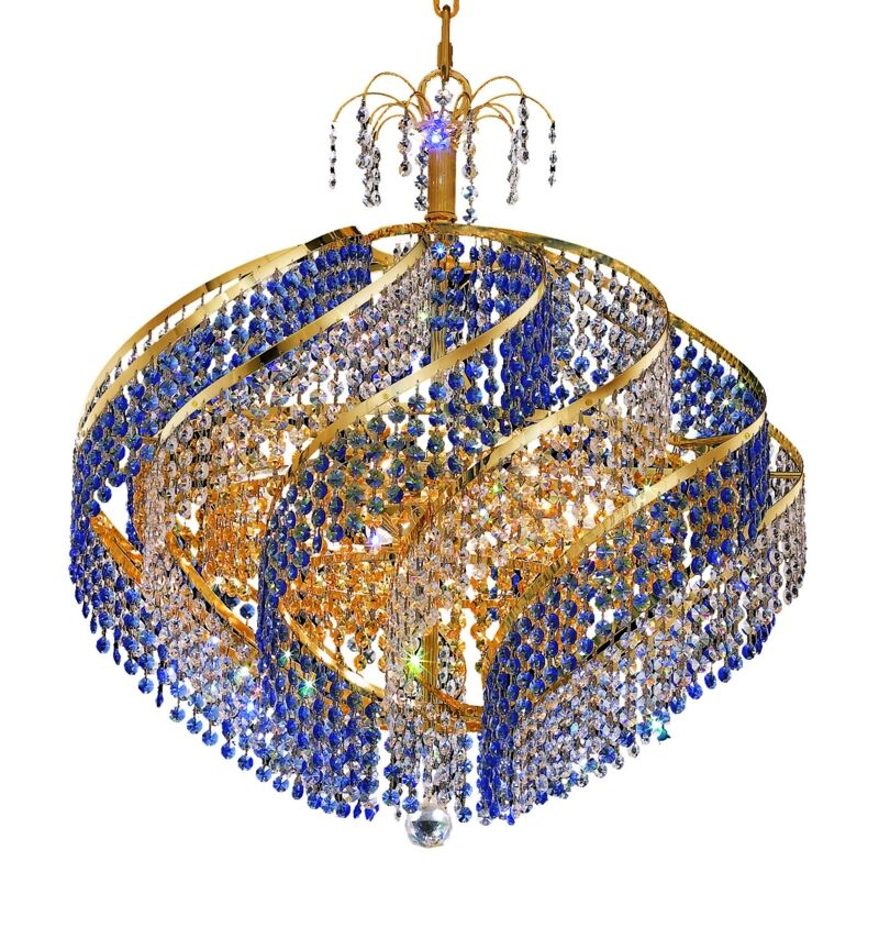 Mathilde 10-Light Chandelier Finish: Chrome, Crystal Trim: Royal Cut