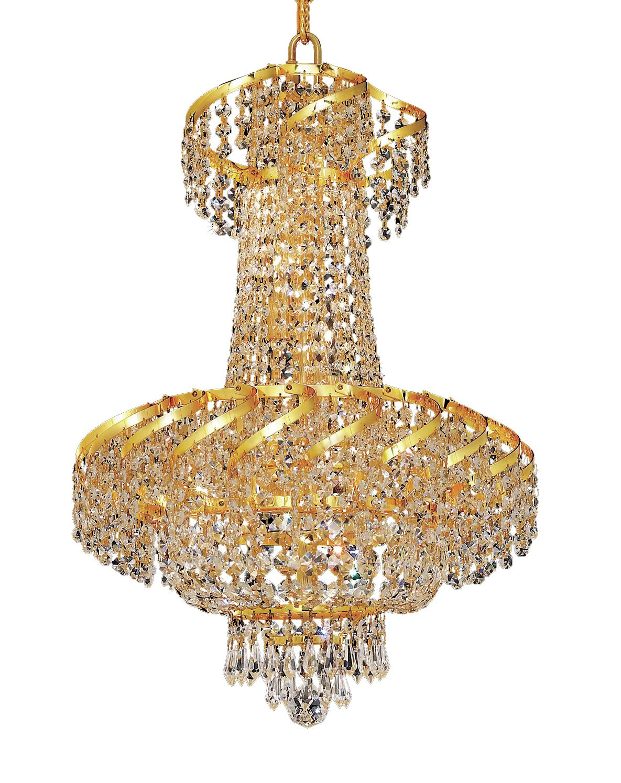 Antione 6-Light Chandelier Finish: Gold, Crystal Trim: Elegant Cut