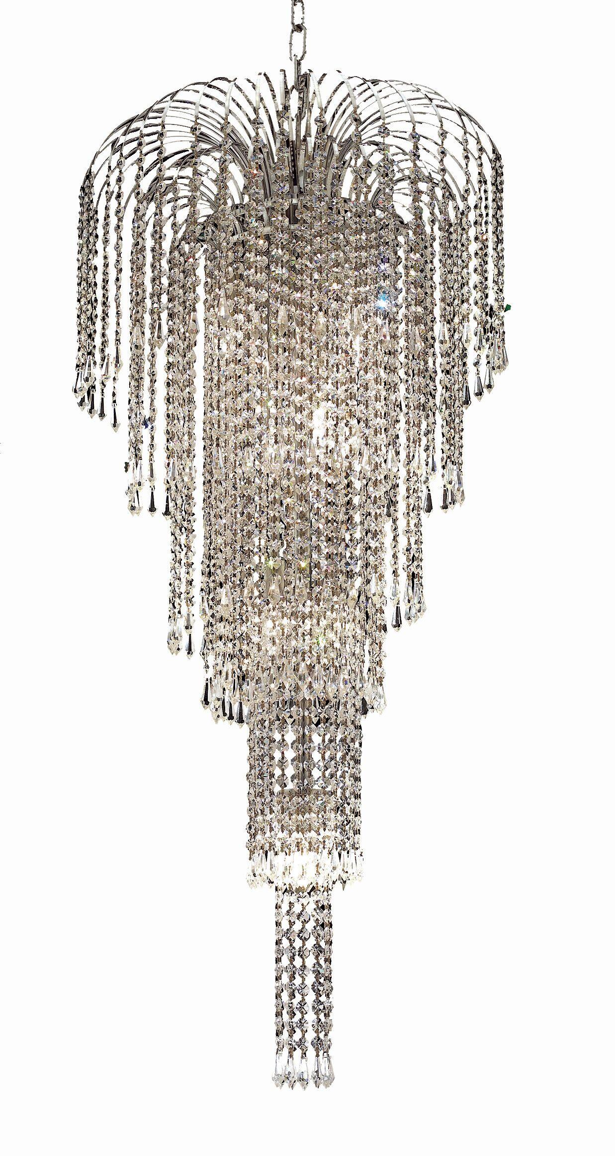Westrem 9-Light Crystal Chandelier Finish: Chrome, Crystal Grade: Egyptian