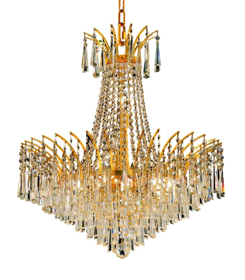 Phyllida 11-Light Empire Chandelier Finish: Gold, Crystal Trim: Royal Cut