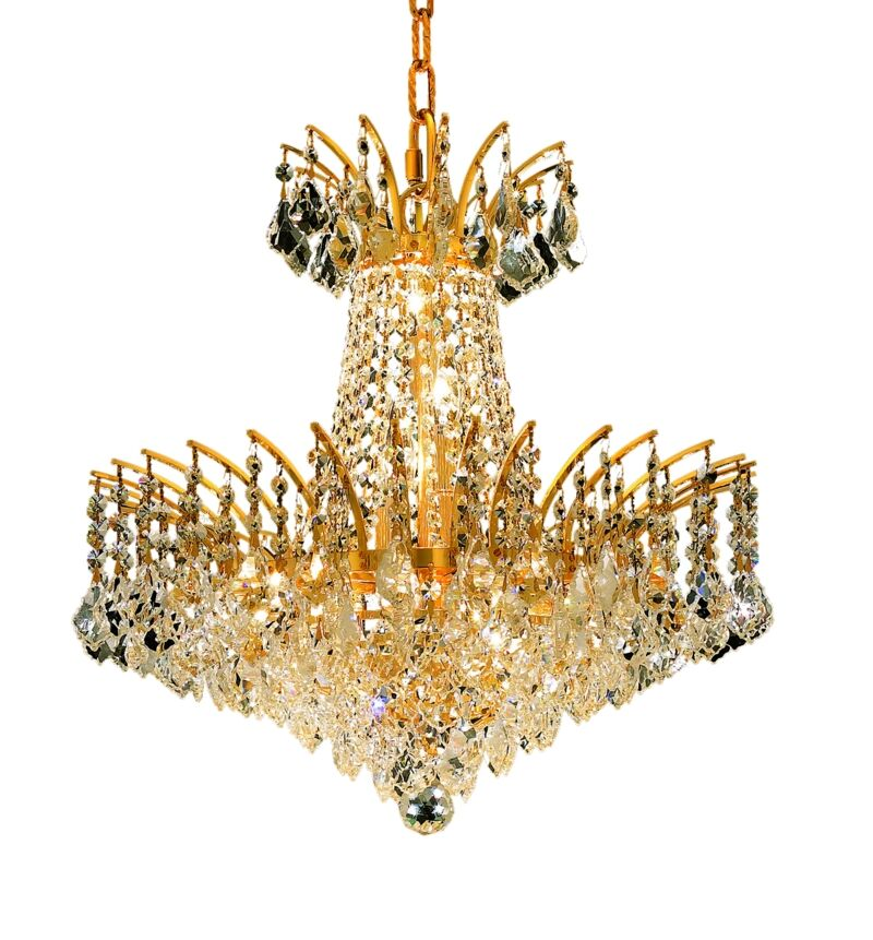 Phyllida 8-Light Chandelier Finish: Chrome, Crystal Trim: Strass Swarovski