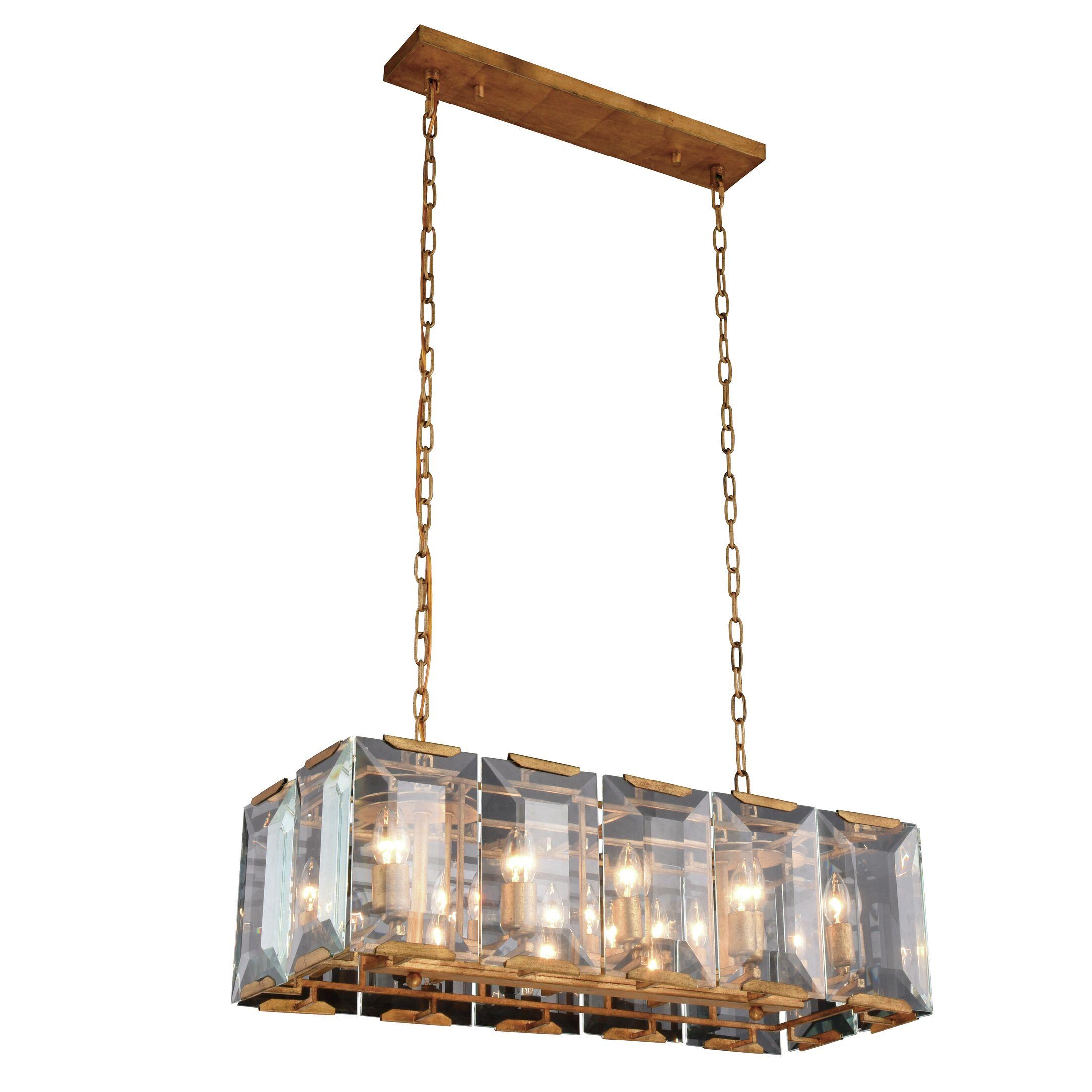 Tallman 10-Light Pendant