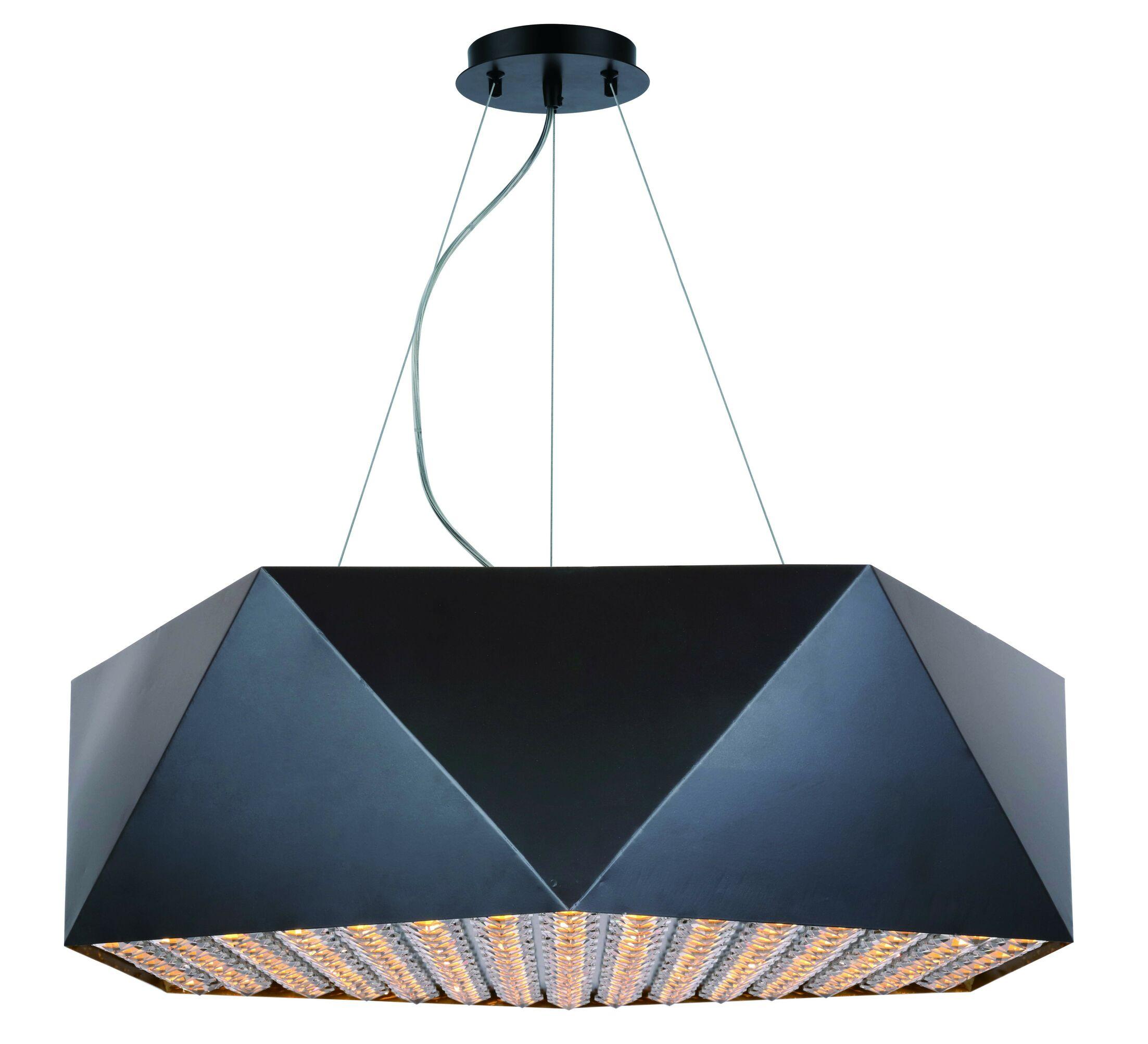 Hammitt 10-Light Geometric Chandelier