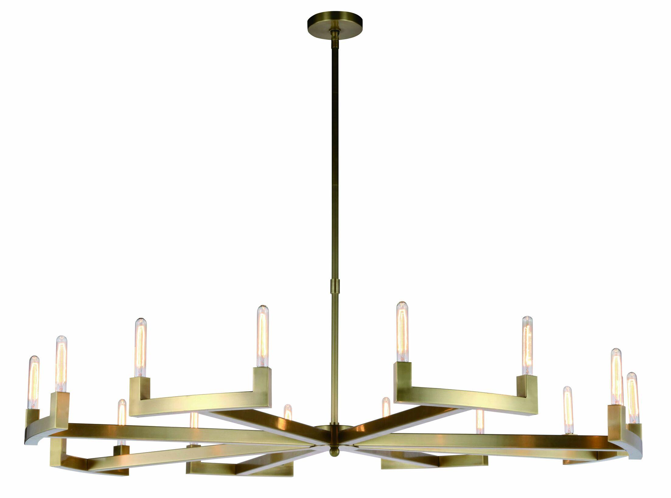 Donnell 16-Light  LED  Chandelier Size: 71