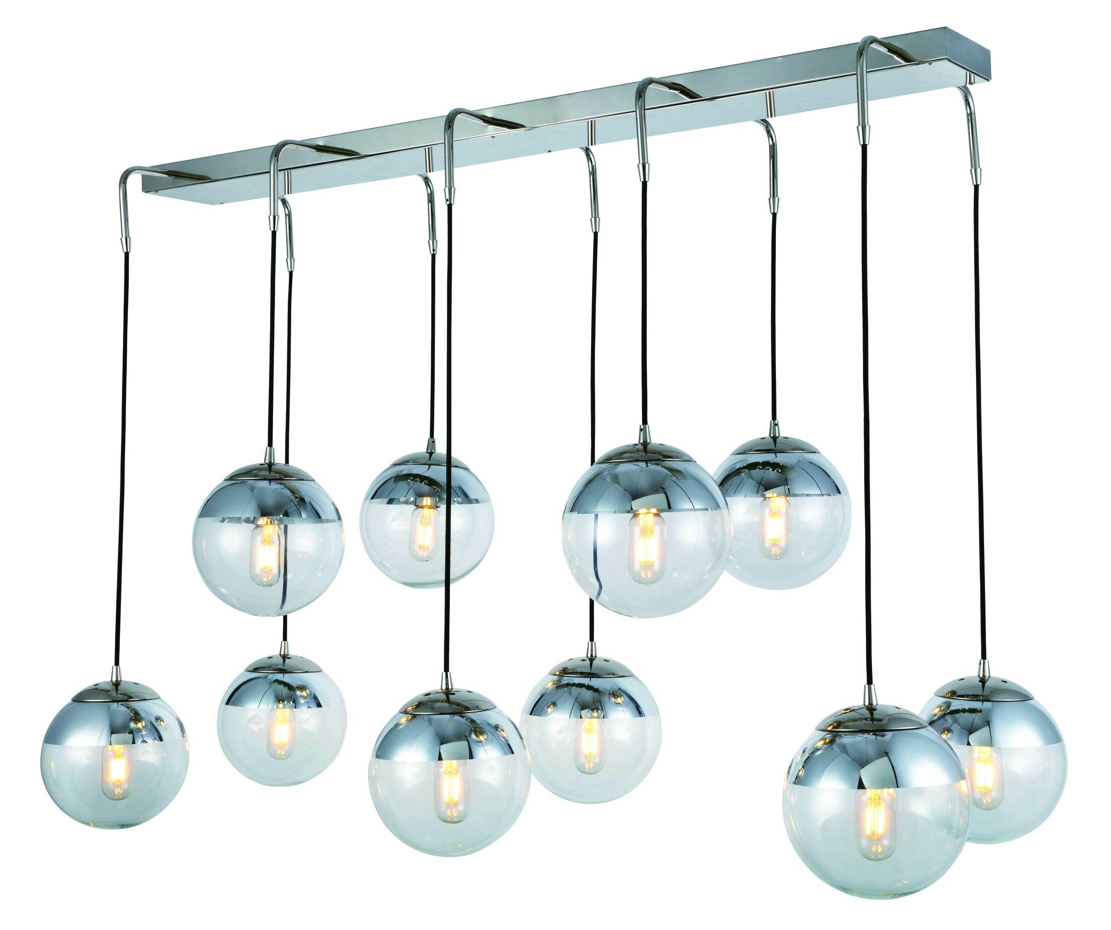 Simeone 10-Light Cluster Pendant
