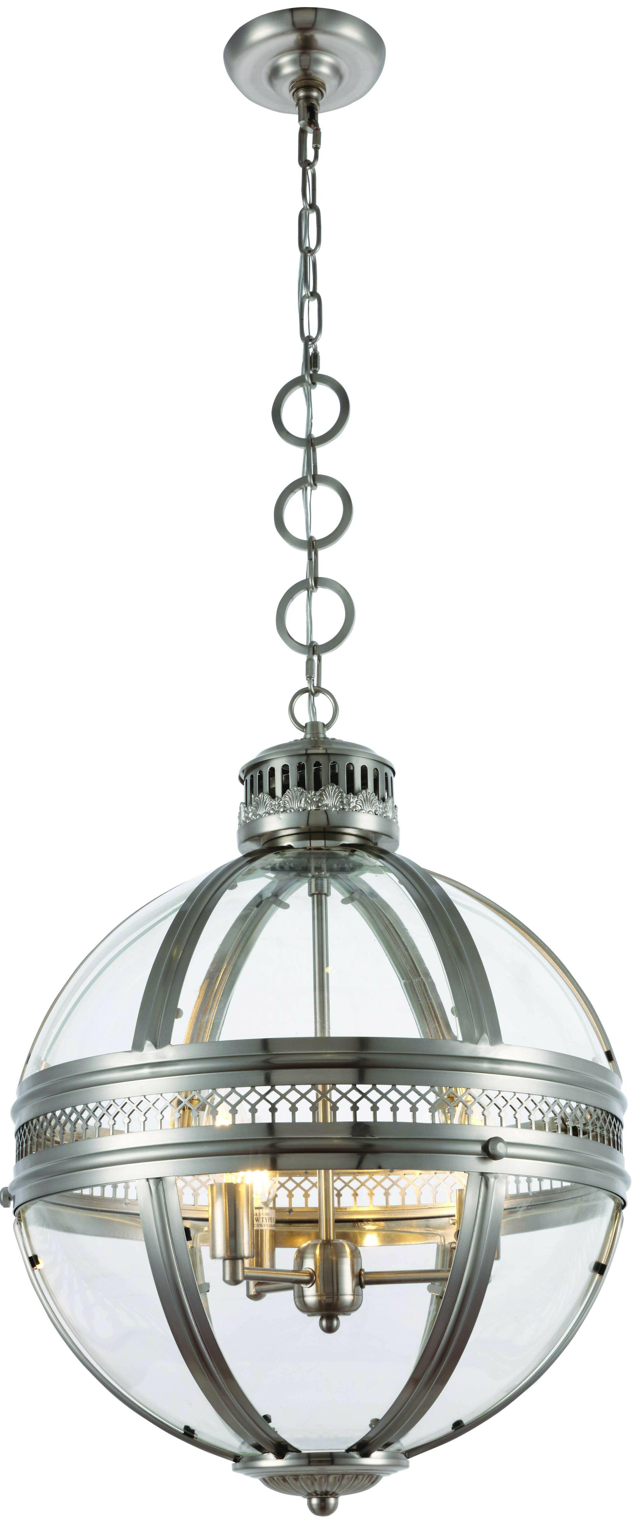 Rio 3-Light Globe Chandelier