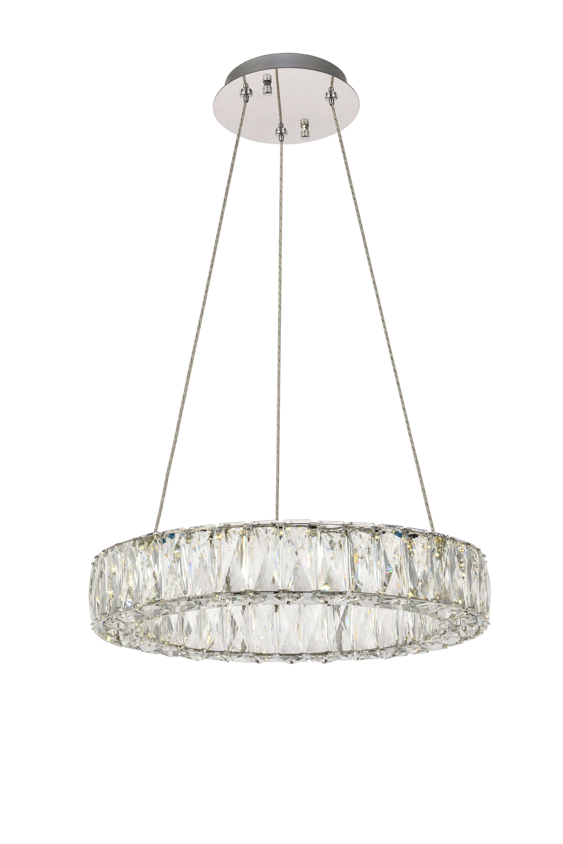 Anessa LED Crystal Chandelier Size: 80