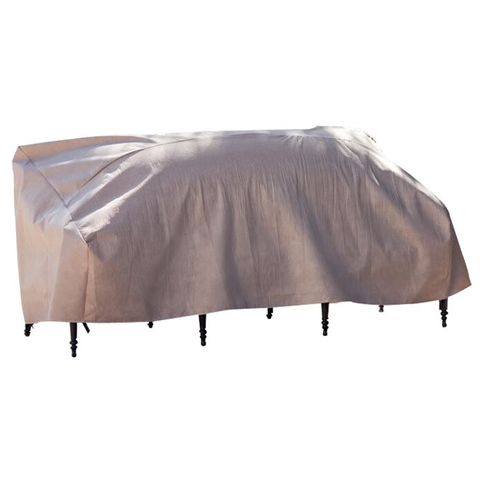 Lesly Patio Sofa Cover Size: 35