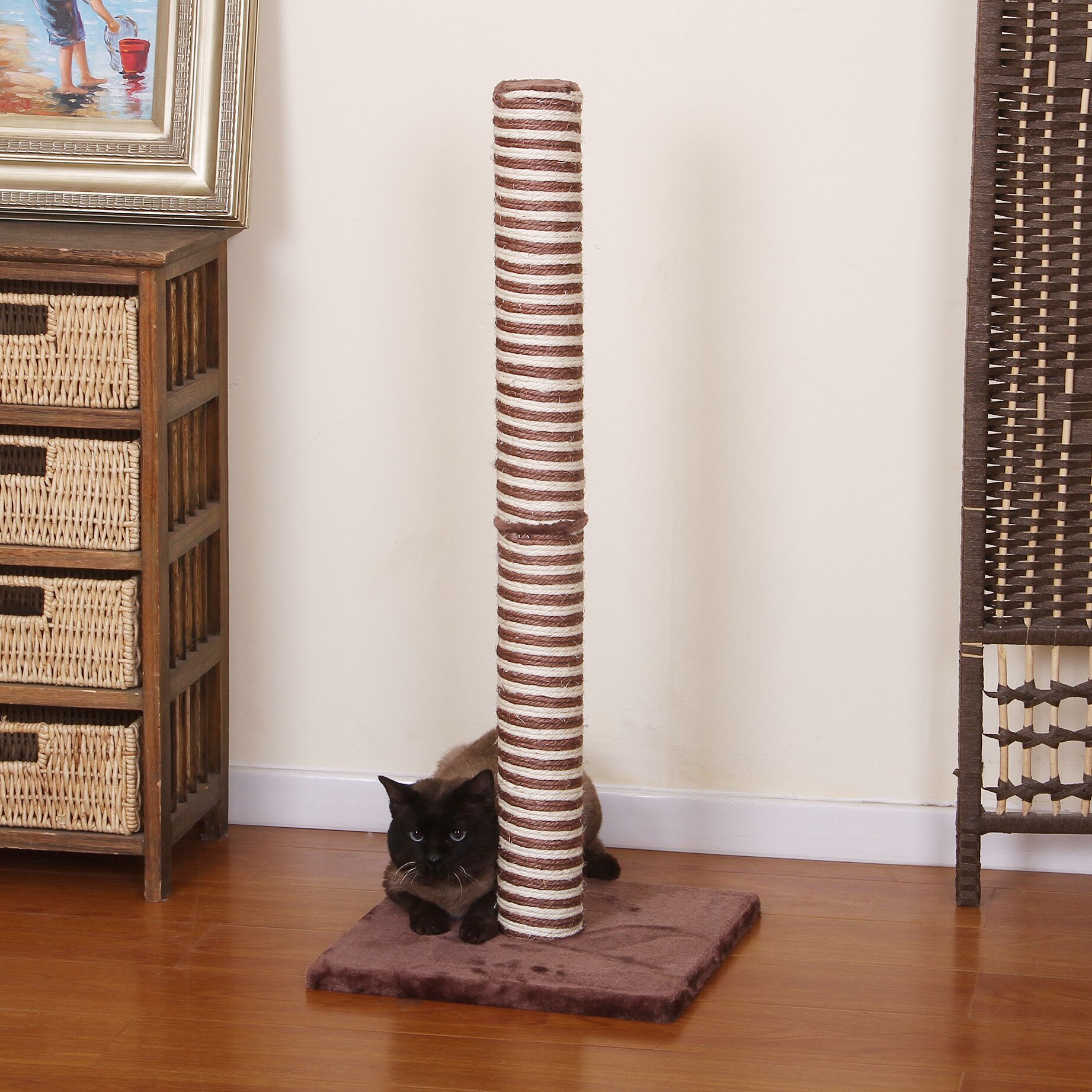 Cathy Candlelight Sisal Scratching Post