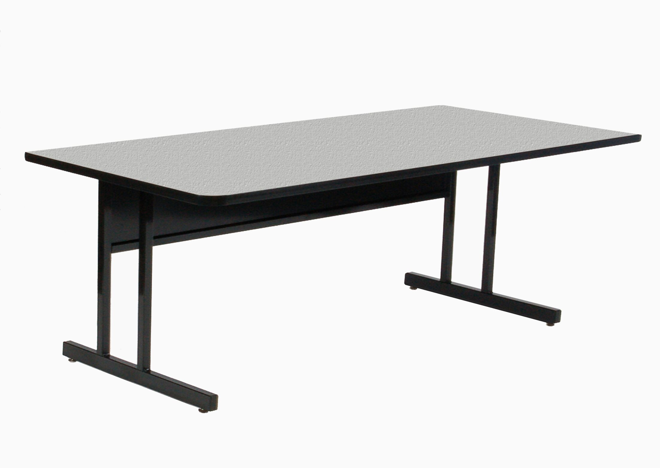 Training Table with Modesty Panel Size: 30