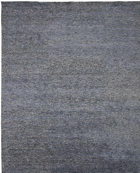 Horizon Hand-Knotted Blue/Gray Area Rug Rug Size: 9' x 12'