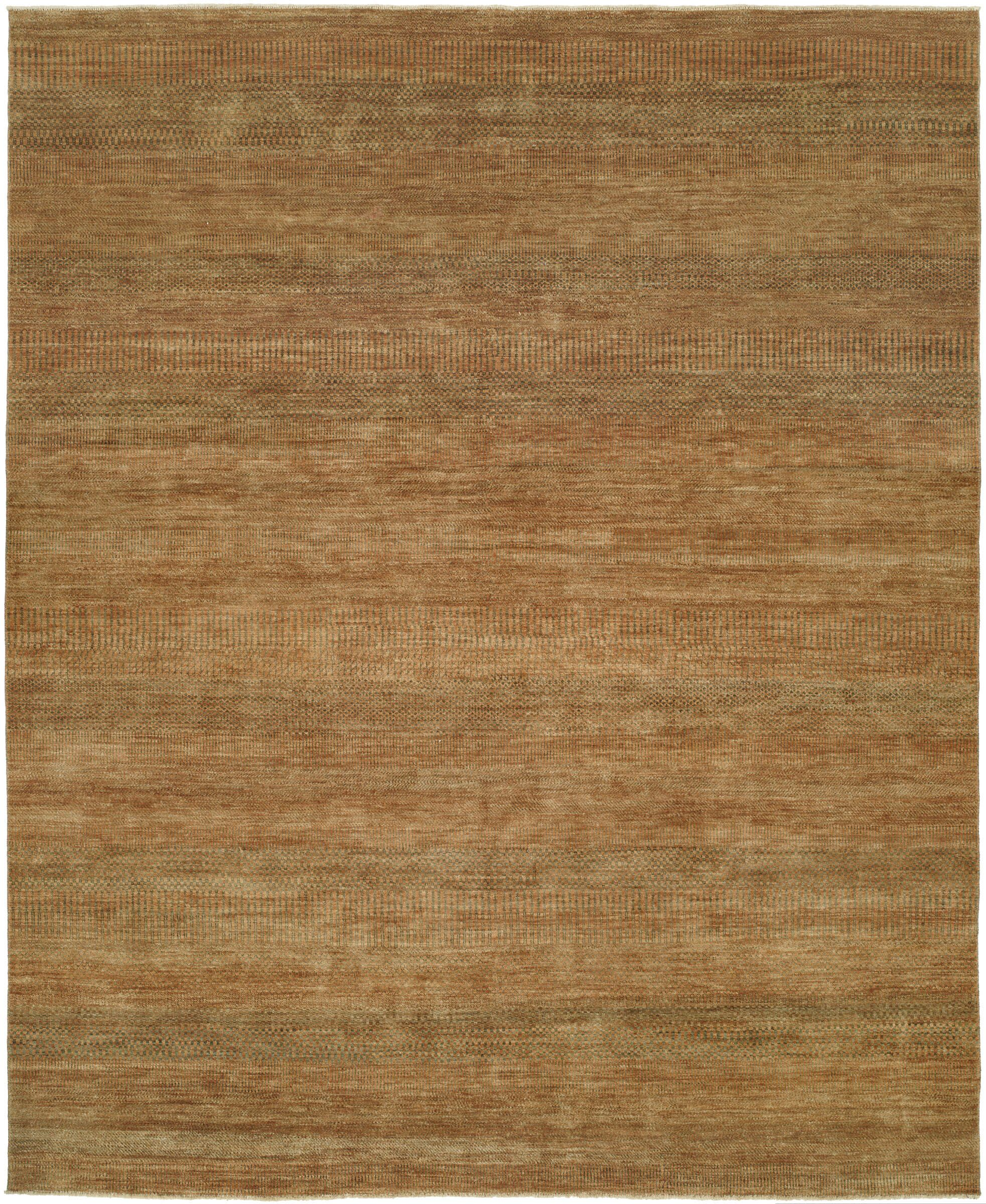 Illusions Gold/Green Area Rug Rug Size: 9' x 12'