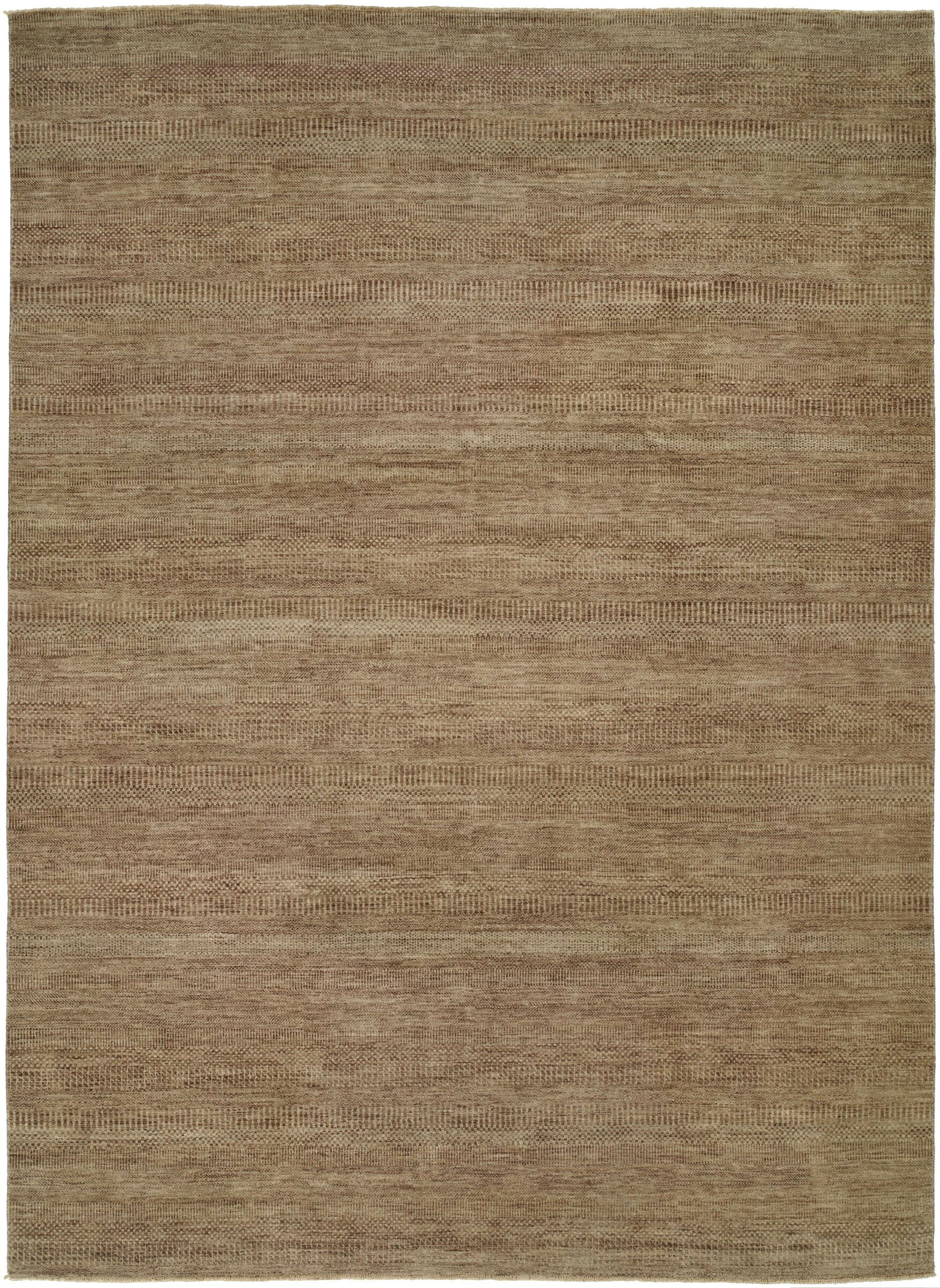 Illusions Light Brown Area Rug Rug Size: 4' x 6'