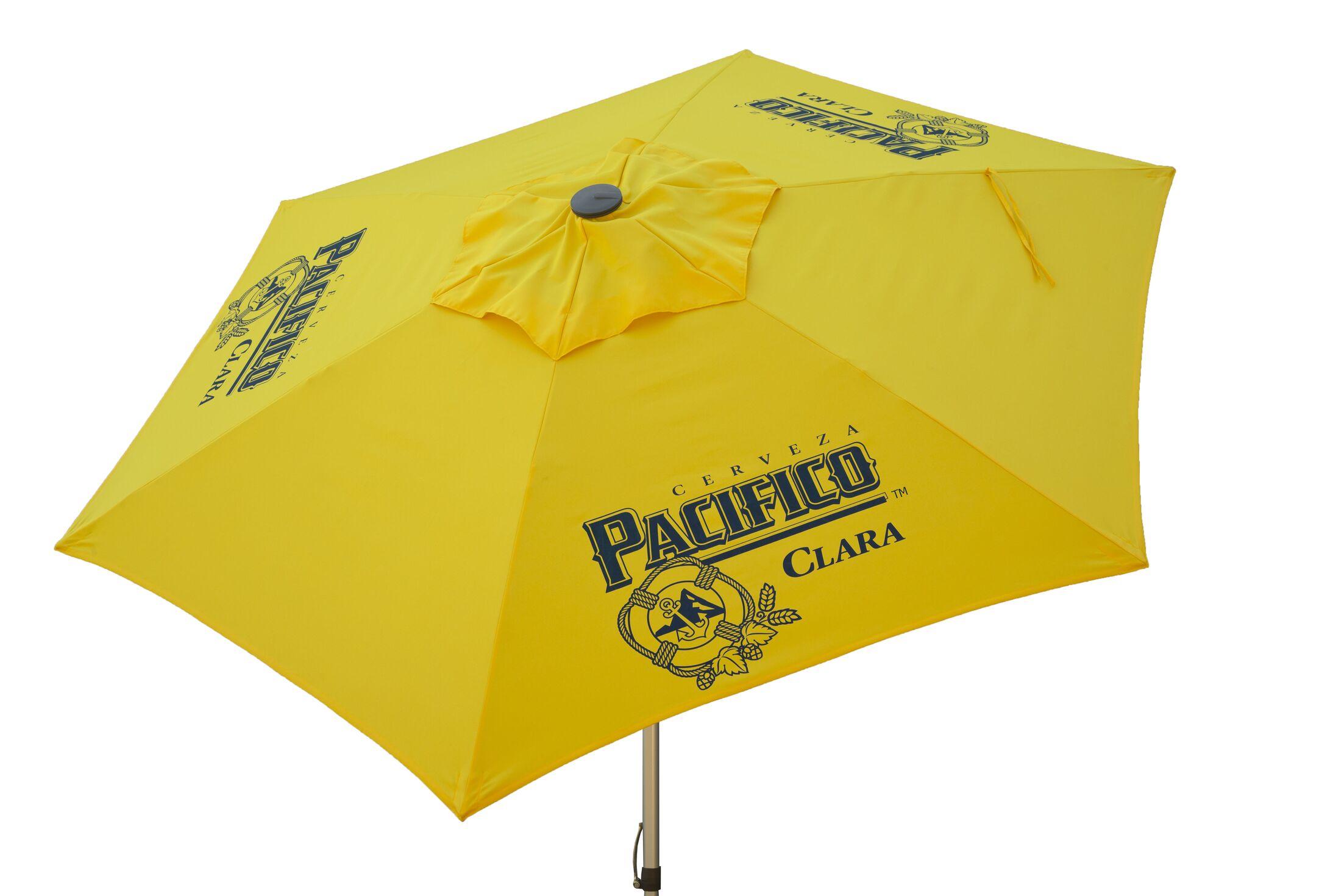 Pacifico Beer Push-Up 8.5' Market Umbrella