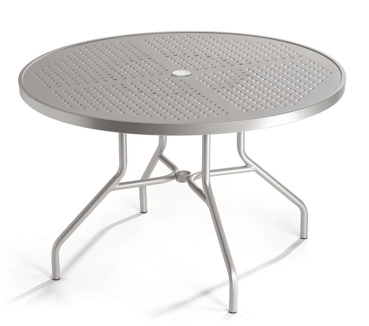 Boulevard Chat Table Frame Color: Sonora, Size: 48