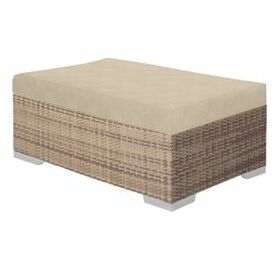 Arzo Ottoman with Cushion Cushion Fabric: Bogota