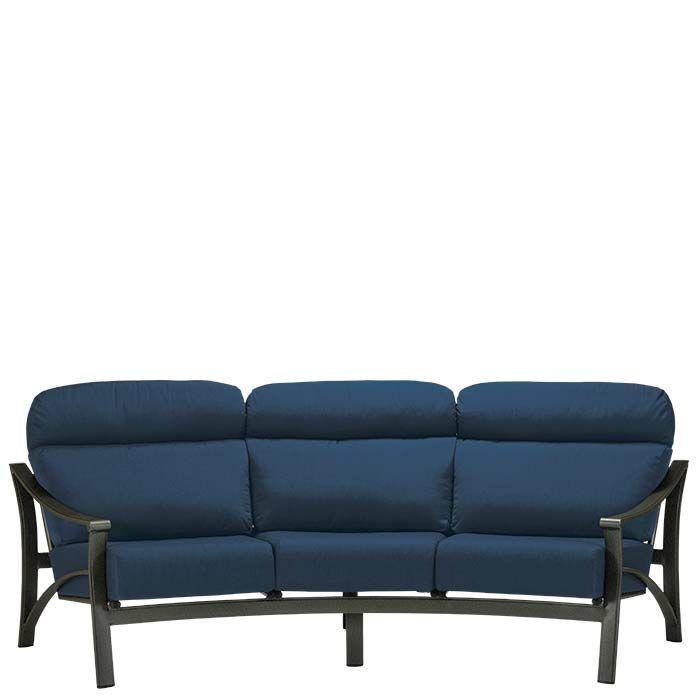 Corsica Patio Sofa with Cushions