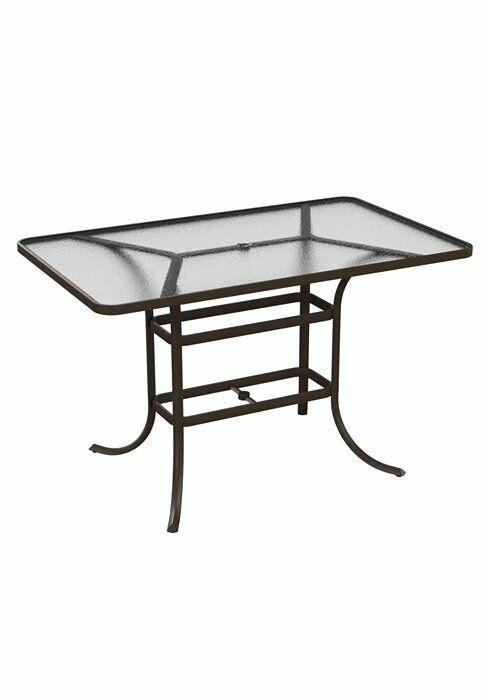 Umbrella Bar Table Frame Color: Woodland