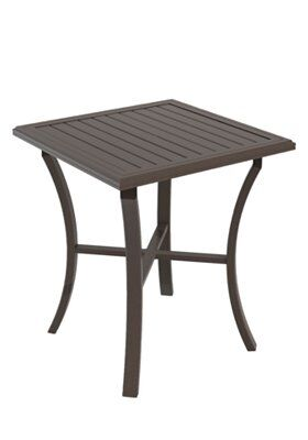Banchetto Bar Table Frame Color: Mocha