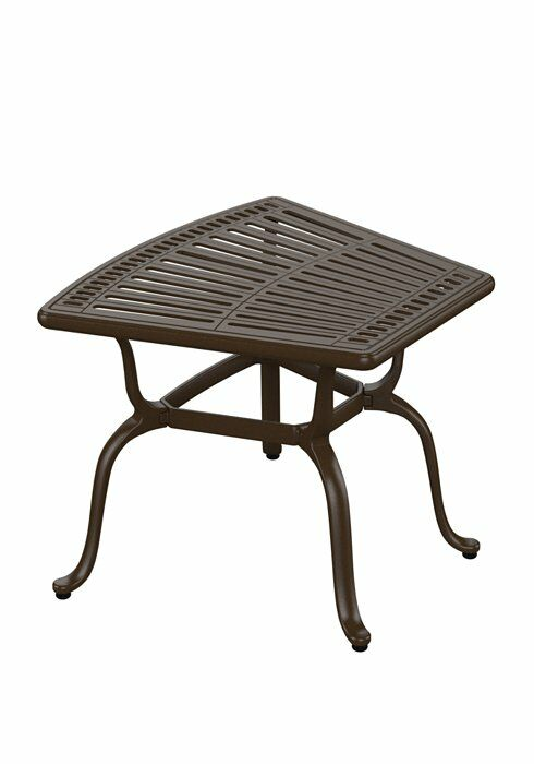 Spectrum Cast Aluminum Side Table Finish: Graphite