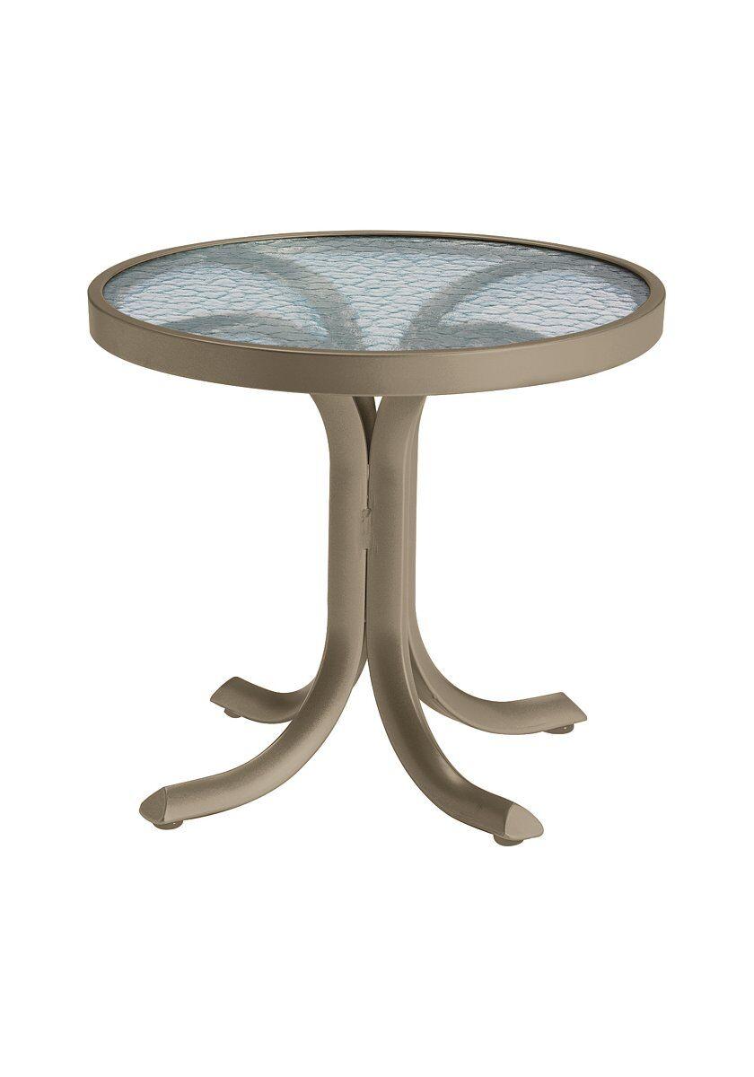 Aluminum Side Table Frame Color: Moab