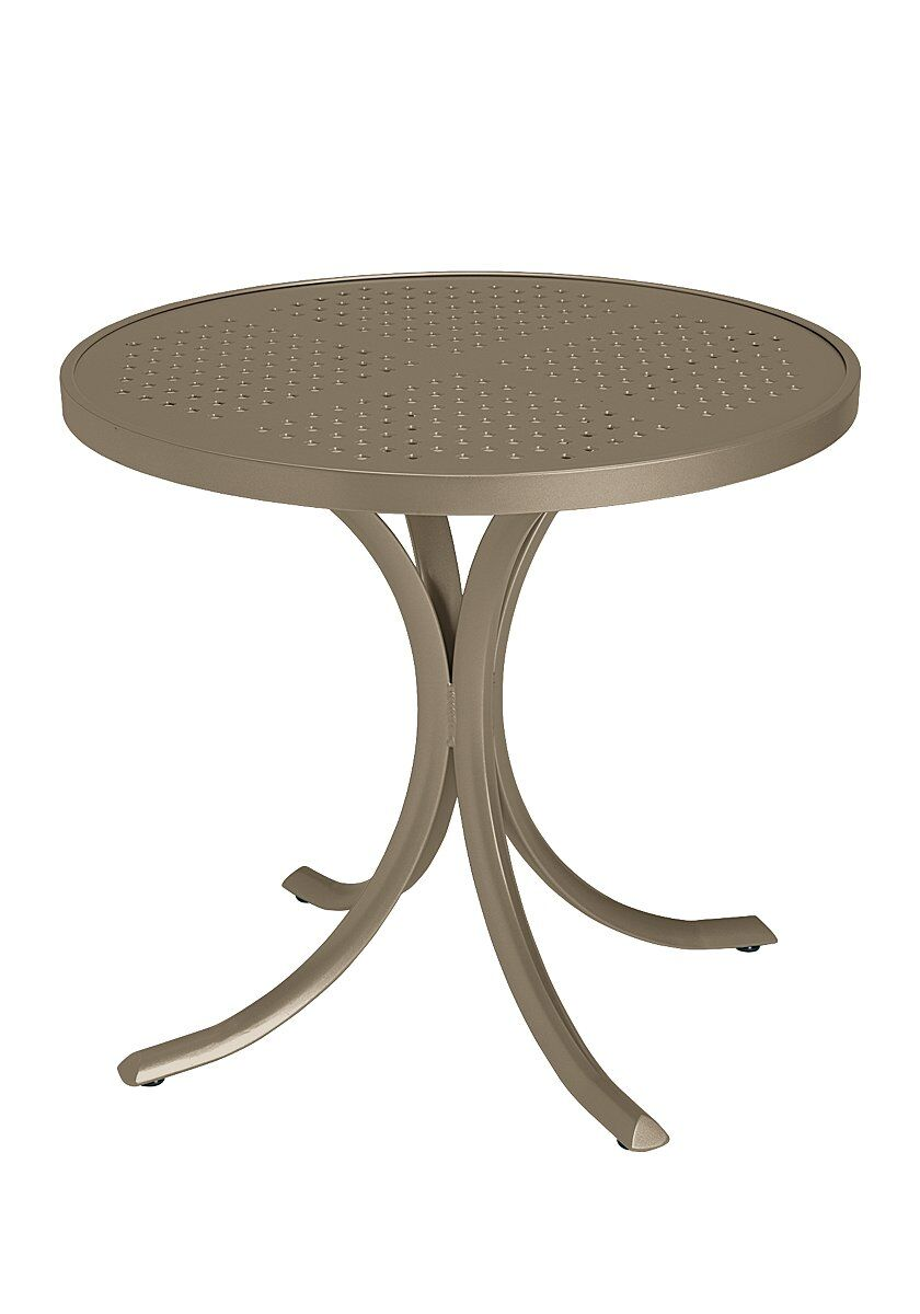 Boulevard Aluminum Dining Table Frame Color: Moab
