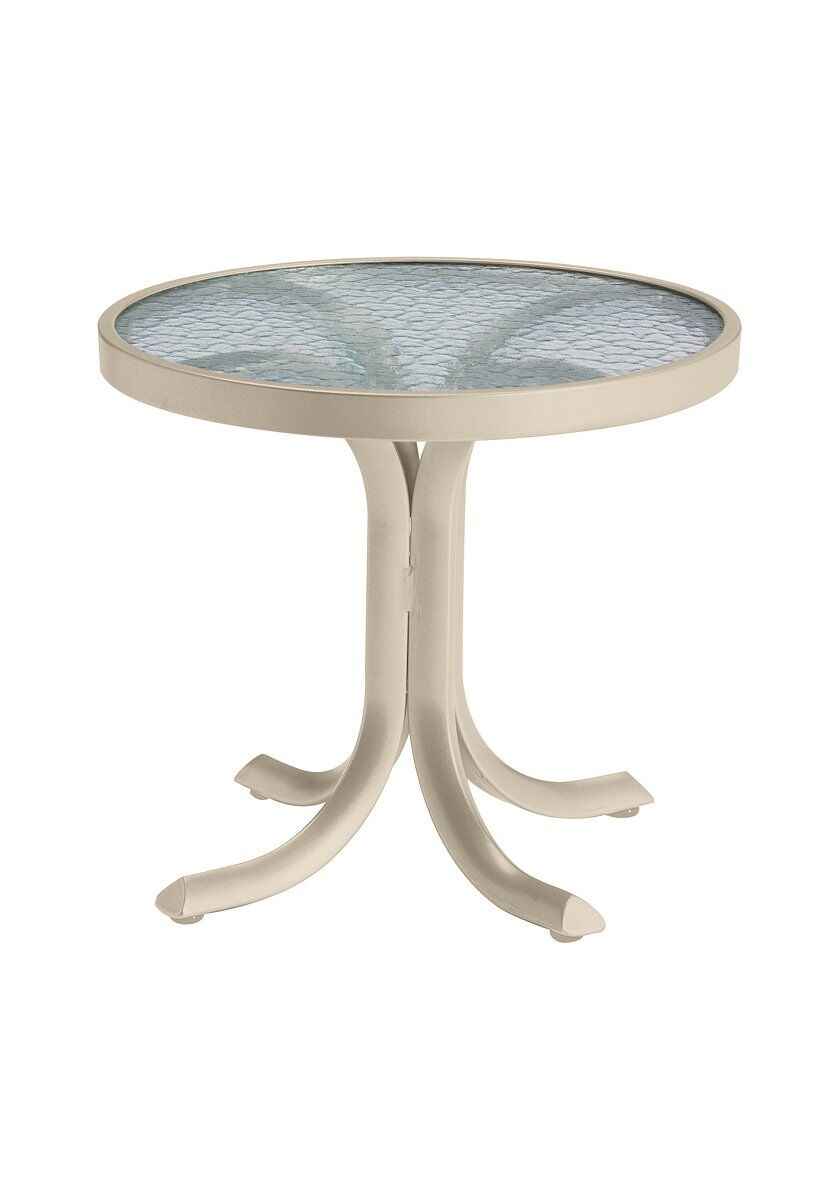 Aluminum Side Table Frame Color: Sonora
