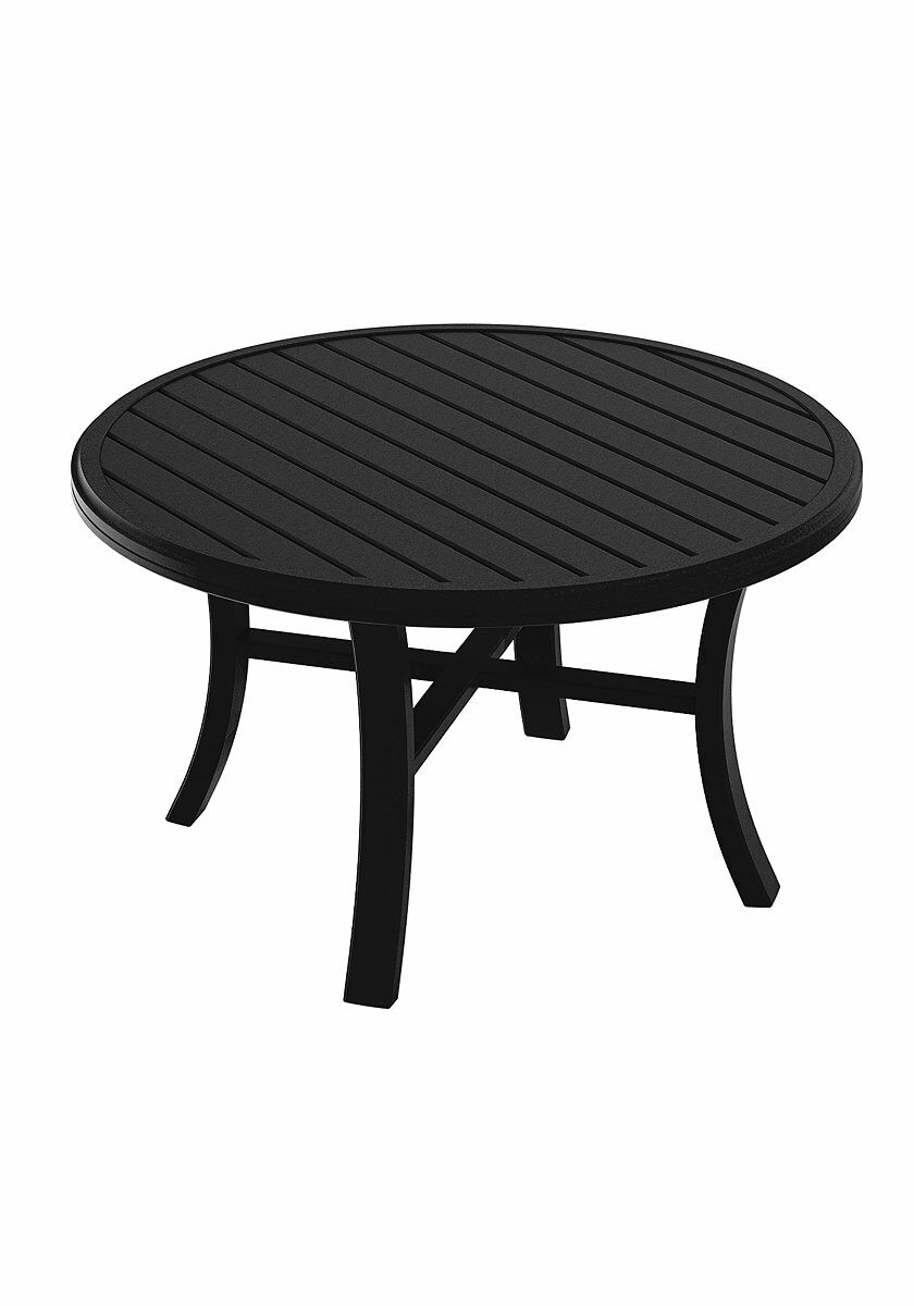 Banchetto Chat Table Frame Color: Obsidian