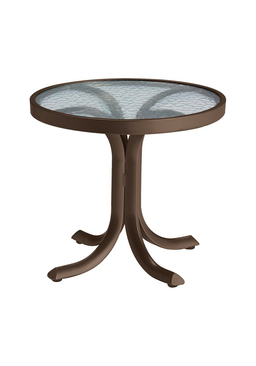 Aluminum Side Table Frame Color: Greco