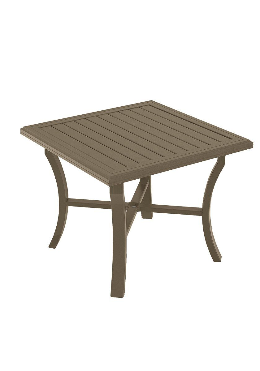Banchetto Aluminum Dining Table Frame Color: Moab