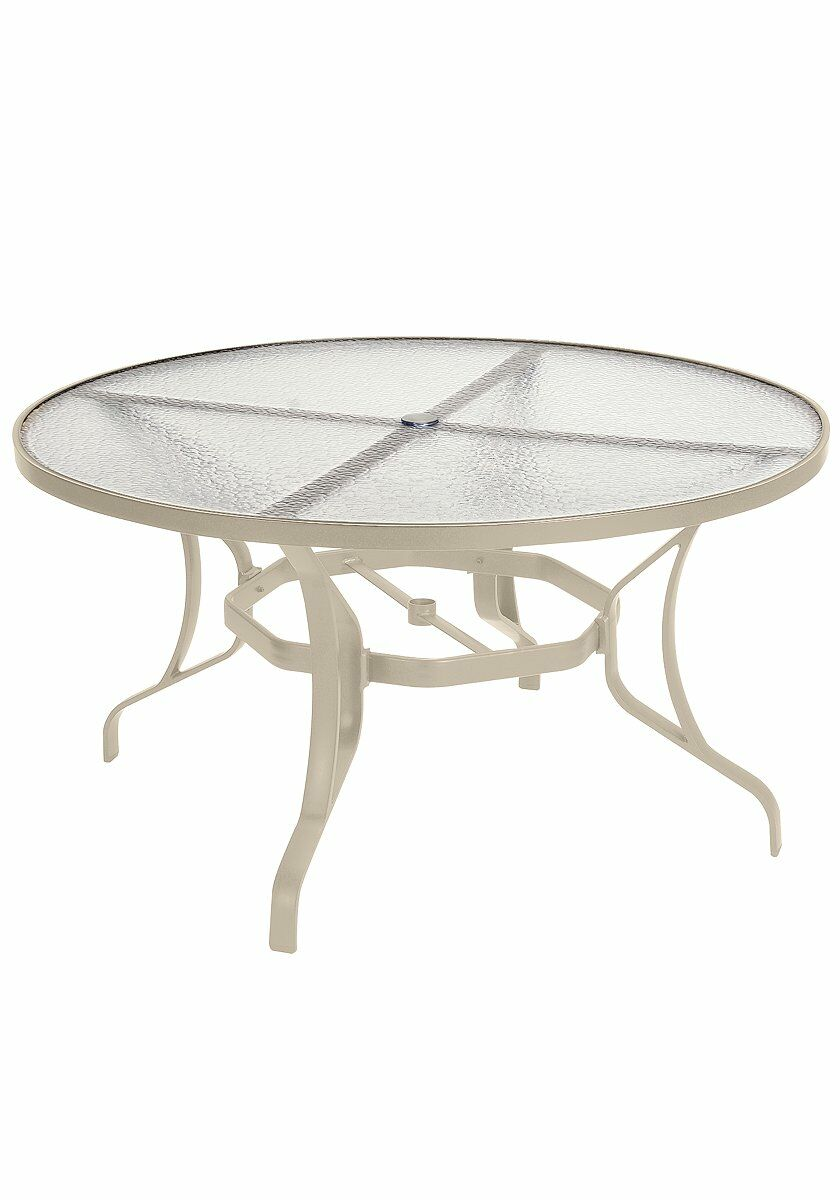 Aluminum Dining Table Finish: Sonora