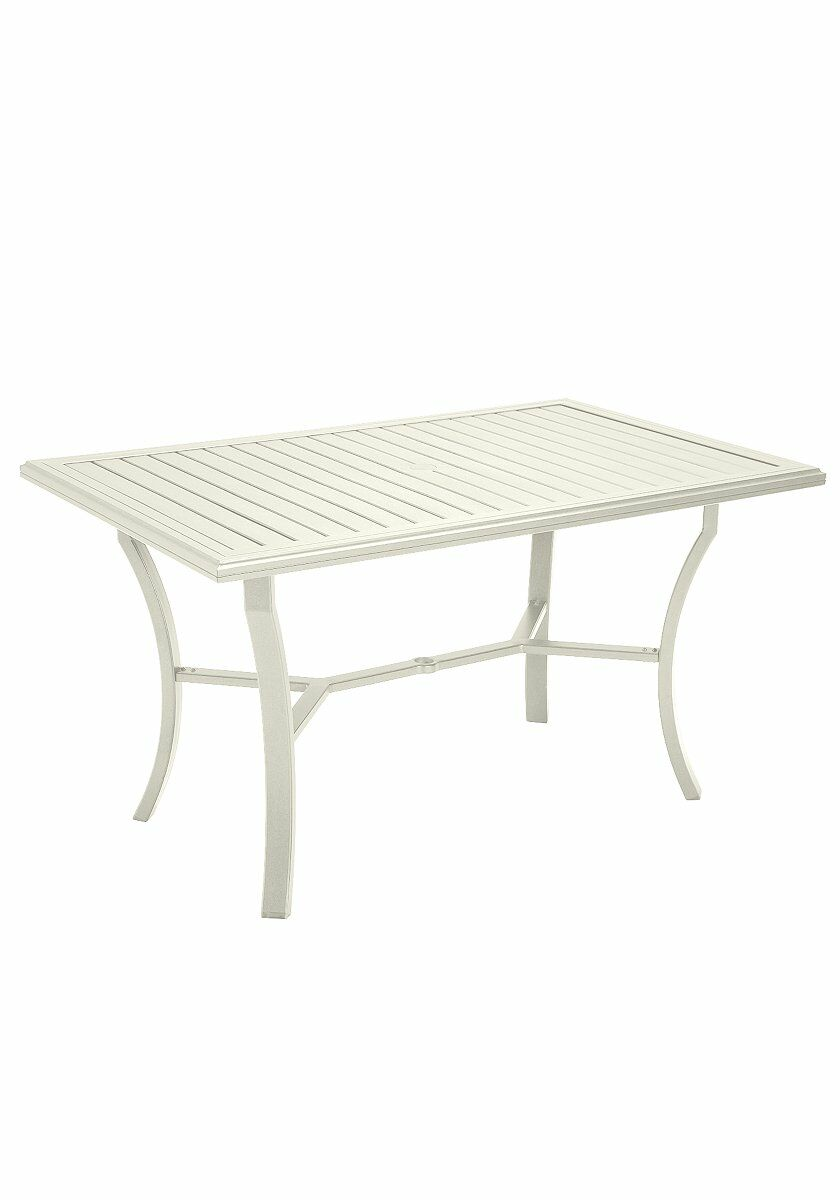 Banchetto Dining Table Frame Color: Parchment