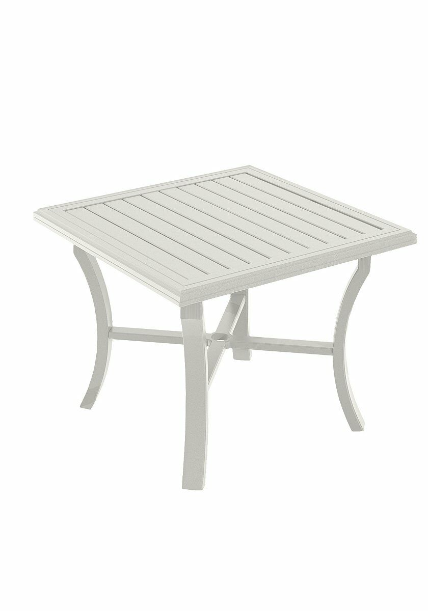 Banchetto Aluminum Dining Table Frame Color: Shell