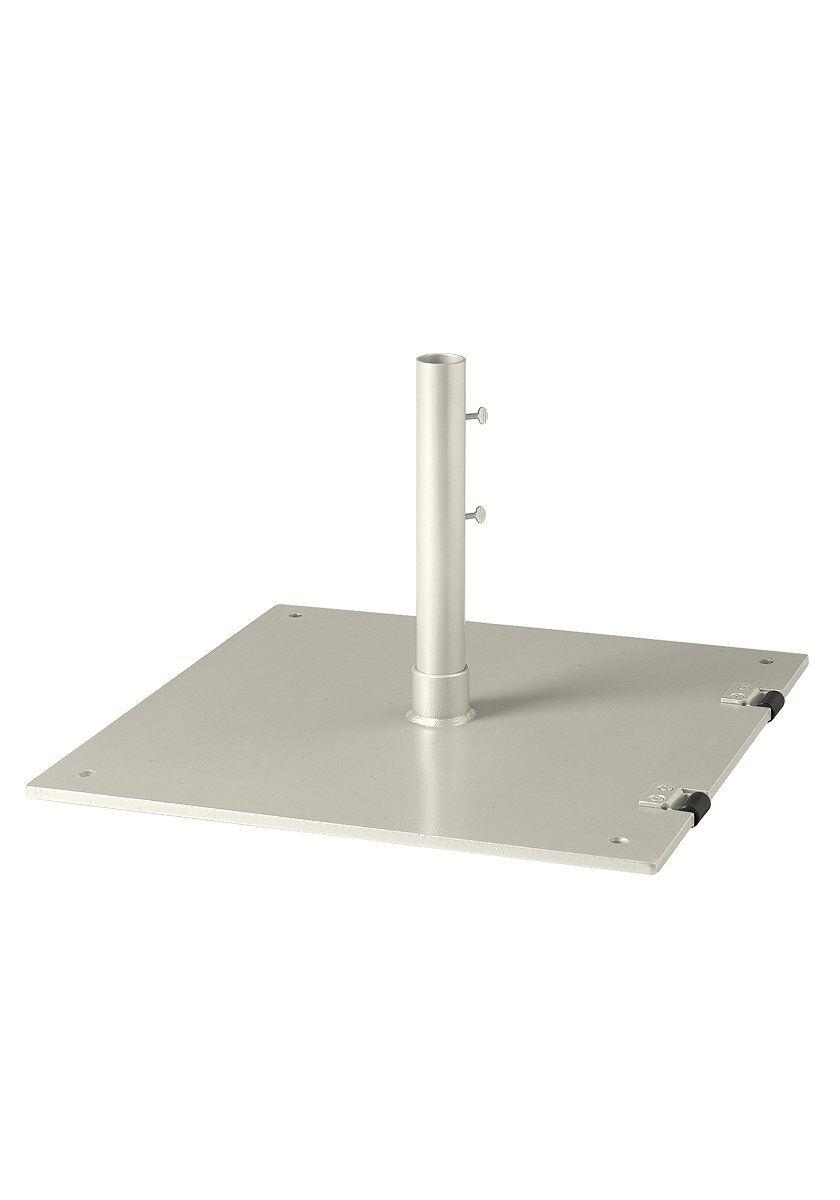 Steel Free Standing Umbrella Base Frame Color: Parchment