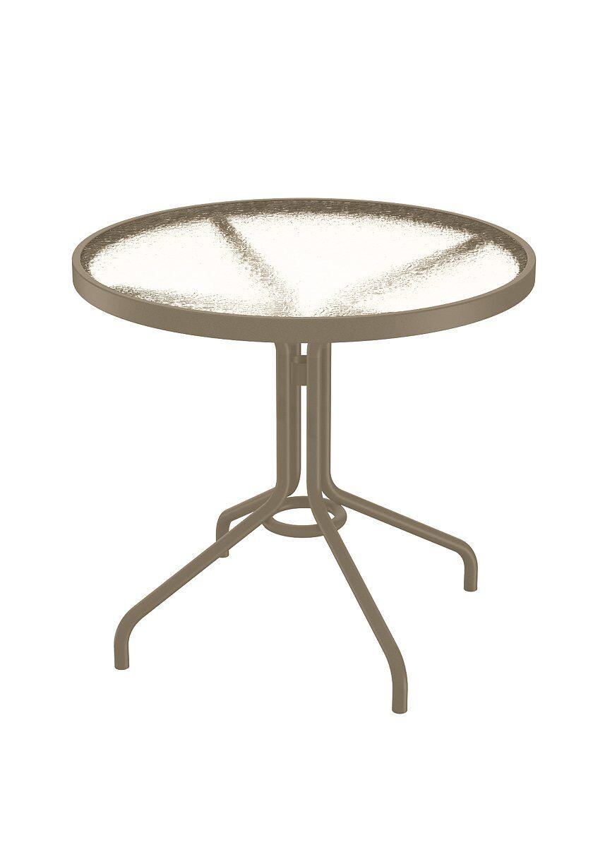 Aluminum Dining Table Finish: Moab