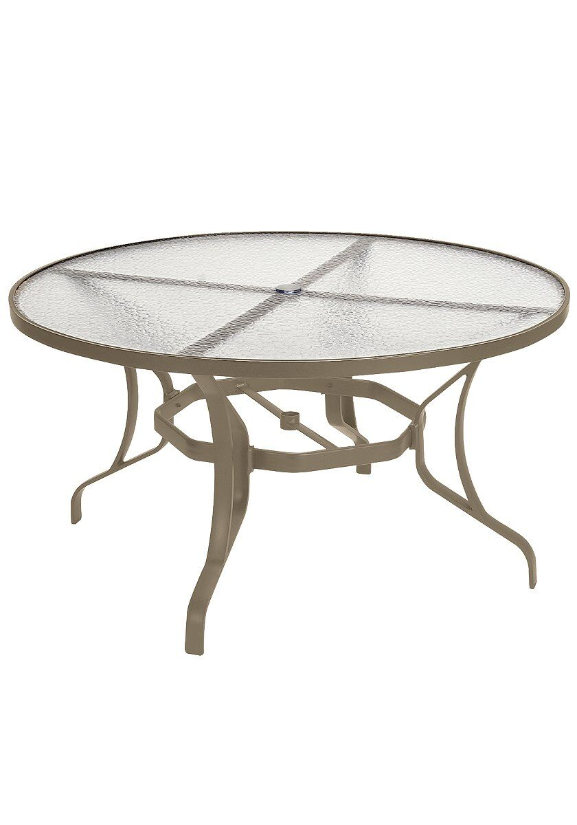 Aluminum Dining Table Finish: Moab