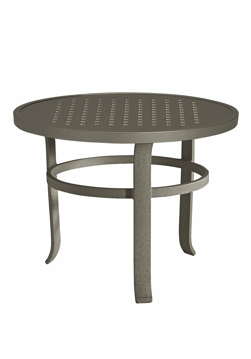 Boulevard Aluminum Coffee Table Frame Color: Mocha