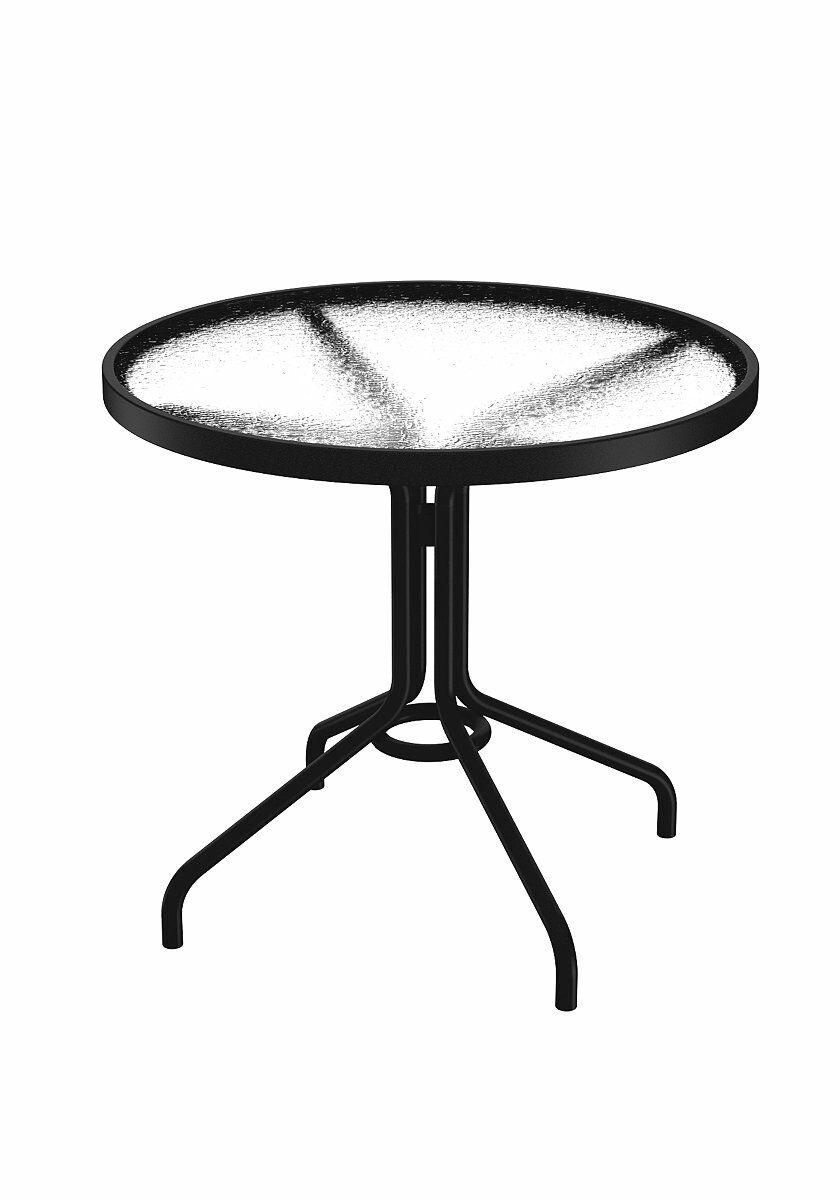 Aluminum Dining Table Finish: Obsidian