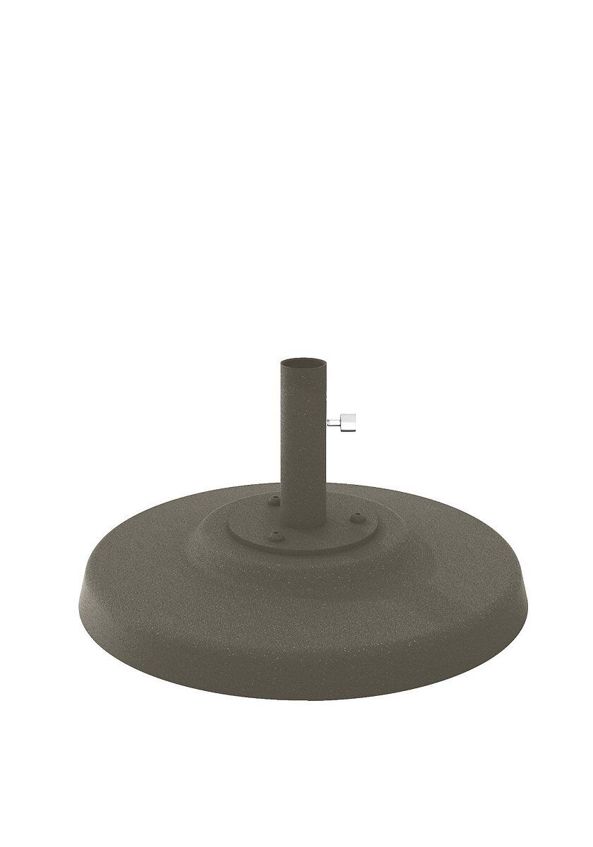 Aluminum Free Standing Umbrella Base Finish: Mocha