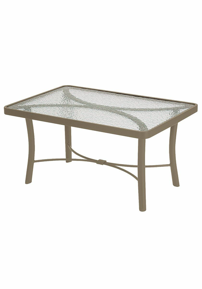 Aluminum Coffee Table Finish: Moab