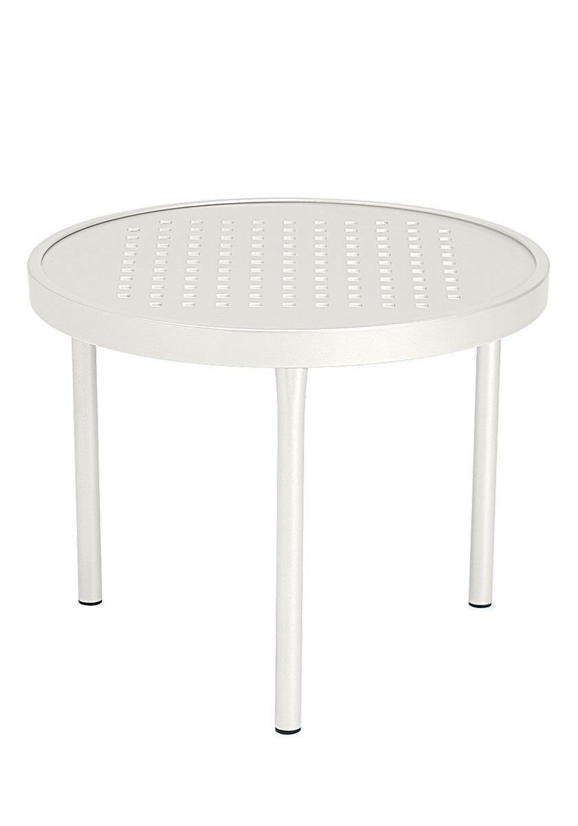 Boulevard Aluminum Coffee Table Frame Color: Shell