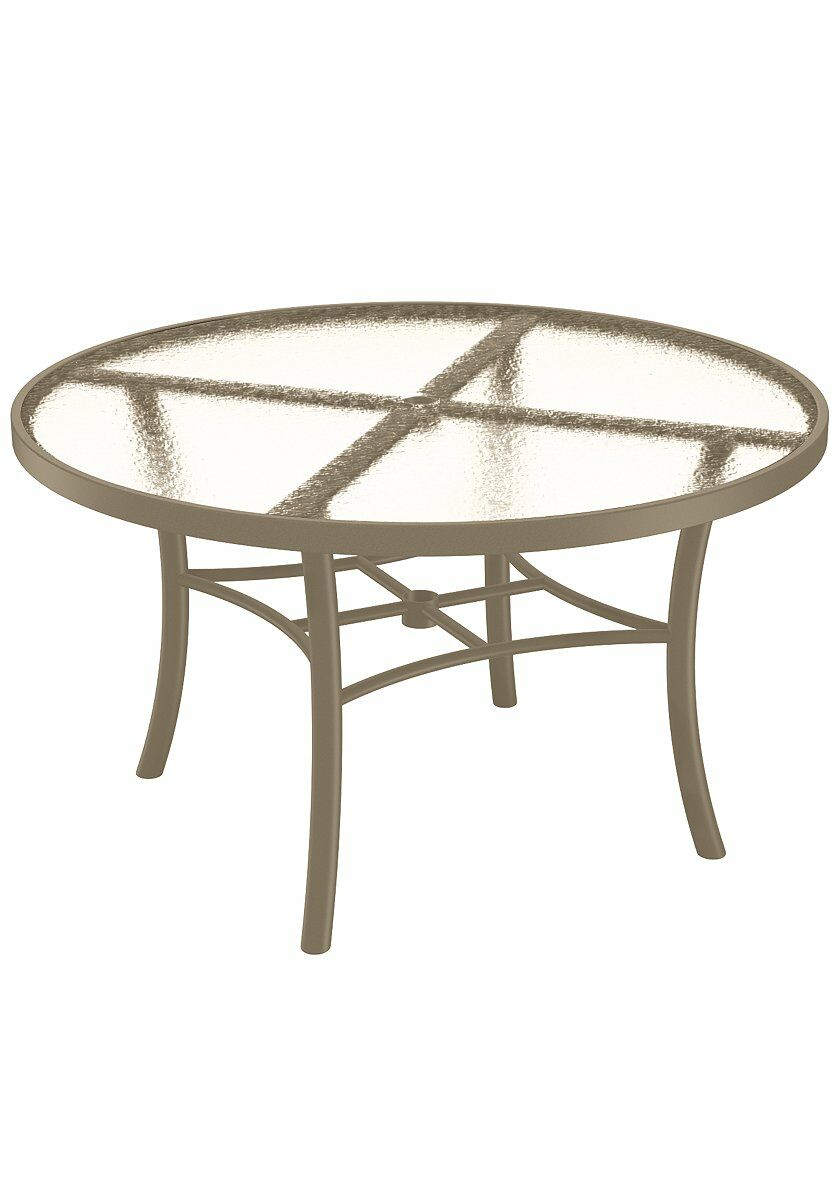 Aluminum Dining Table Frame Color: Moab
