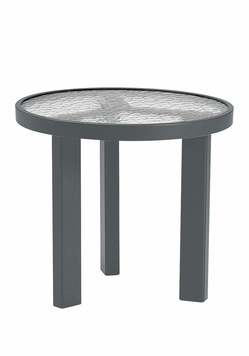 Aluminum Bar Table Frame Color: Woodland