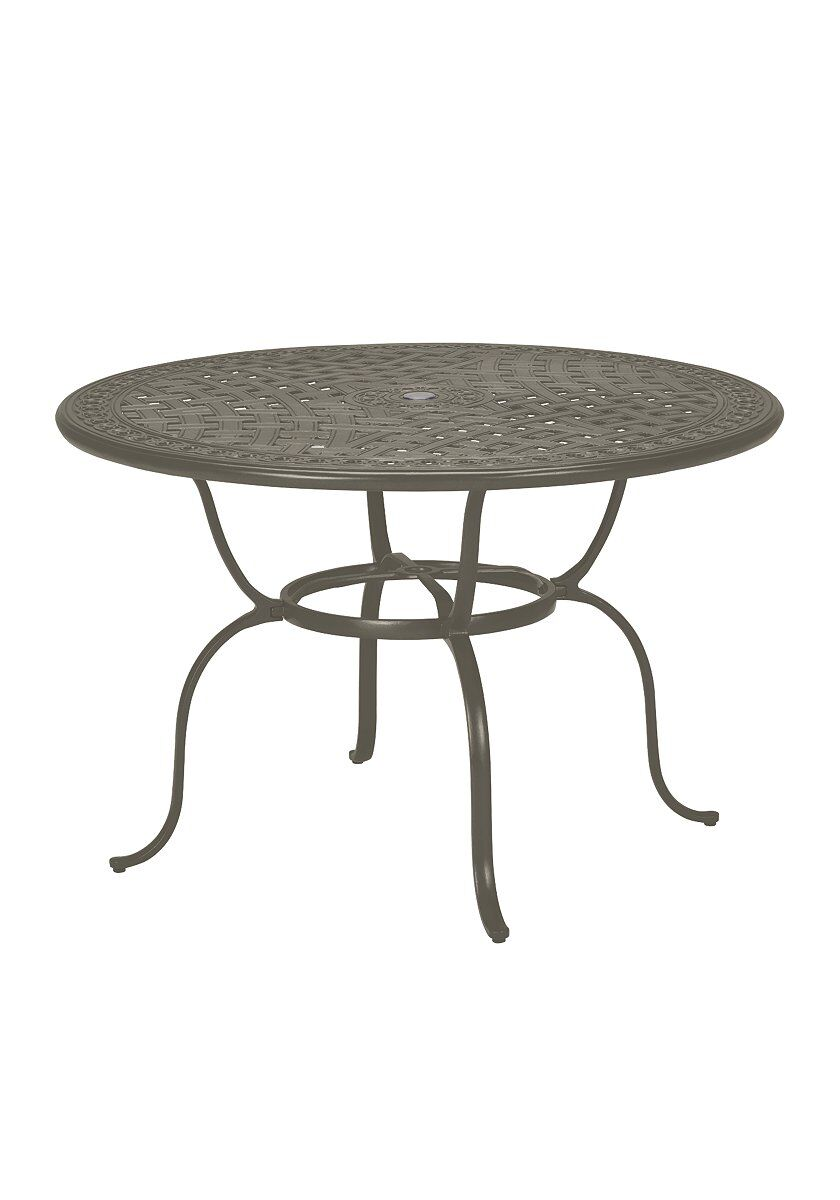 Counter Height Chat Table Frame Color: Mocha