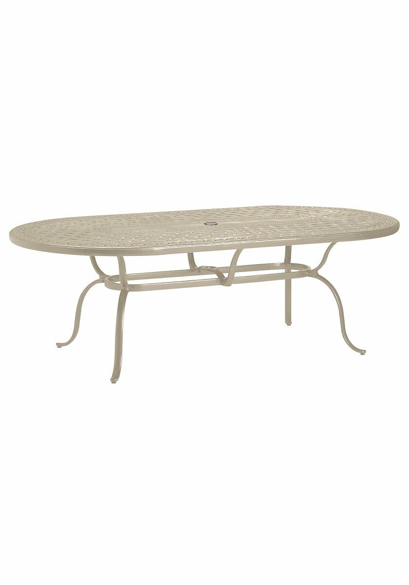 Cast Aluminum Dining Table Finish: Sonora