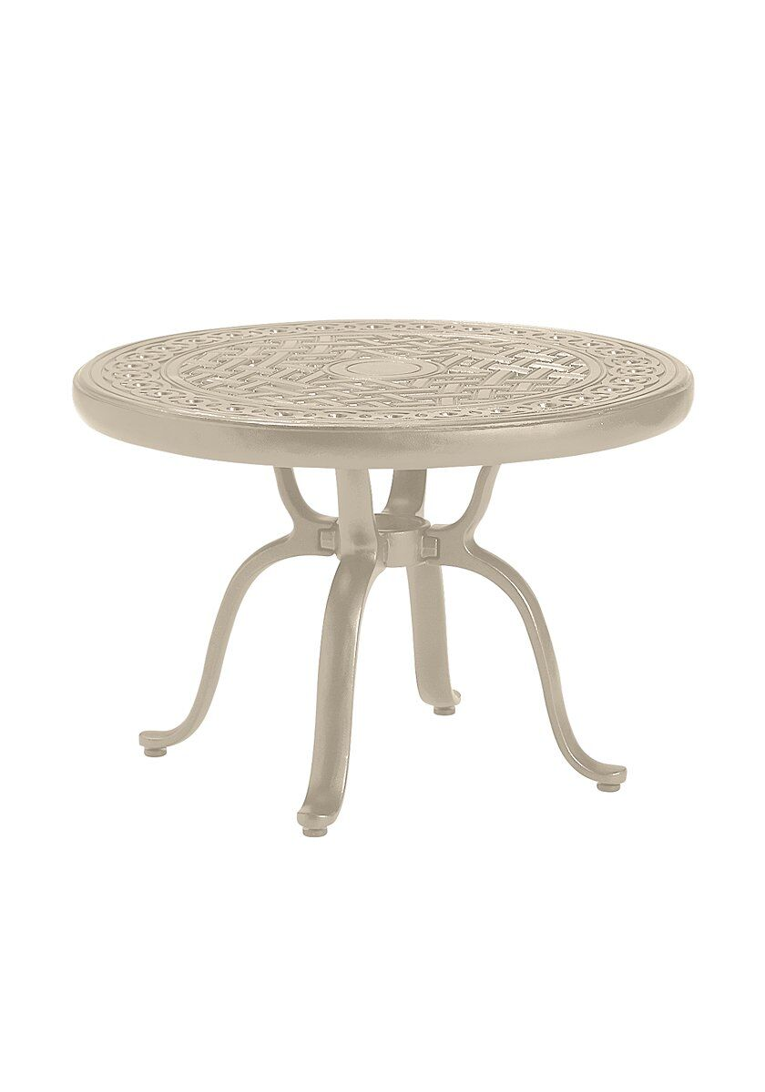 Cast Aluminum Coffee Table Frame Color: Sonora