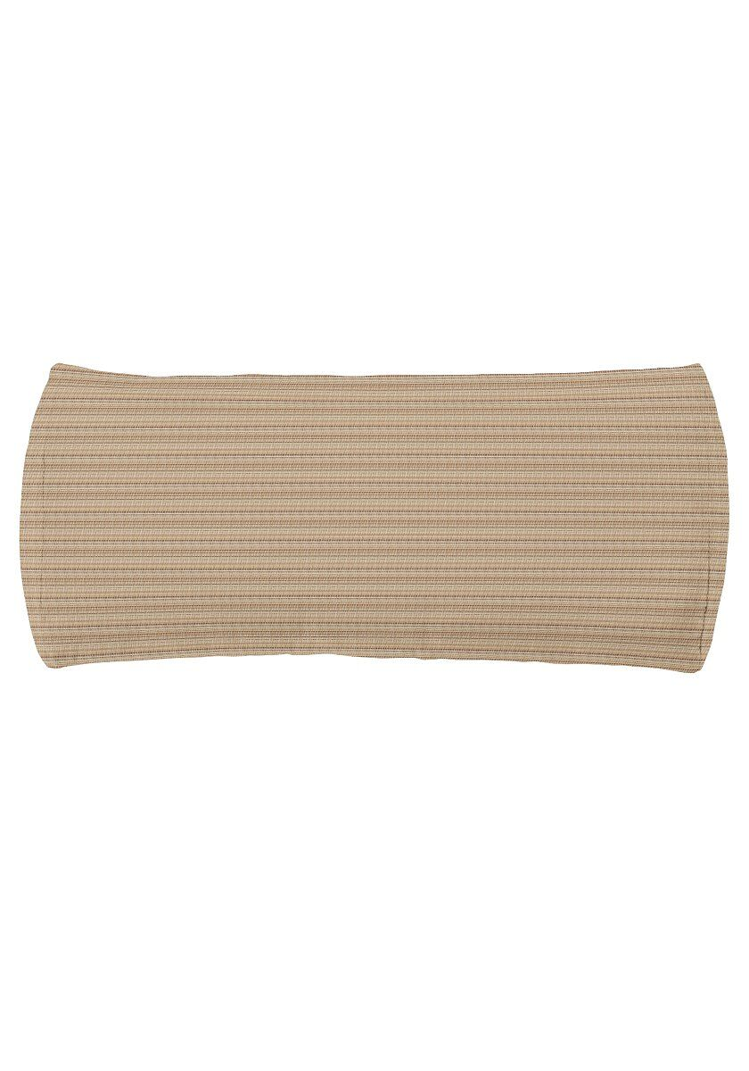 Chaise Headrest Outdoor Bolster Lumbar Cushion Color: Taylor