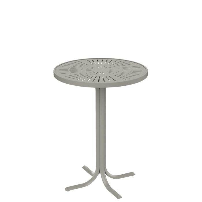 La'Stratta Aluminum Bar Table Frame Color: Moab